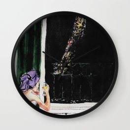 I've been waiting for you, Paris! Wall Clock