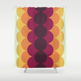 Gradual Vintage Shower Curtain