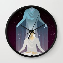 astral body flying Wall Clock