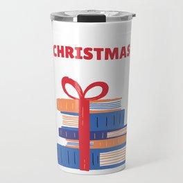 All I Want For Christmas is Books Ugly Christmas Sweater Tee Travel Mug