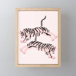 fierce females Framed Mini Art Print