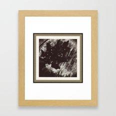 Dessicated Oak Leaf Framed Art Print