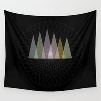 nirvana Wall Tapestries featuring Nirvana Mountain by Pia Schneider [atelier COLOUR-VISION]