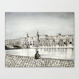 La Seine II Canvas Print