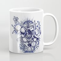 doodle Mugs featuring Doodle by Puddingshades