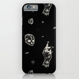 Let there be night iPhone Case