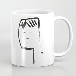 Ink face Oh Coffee Mug