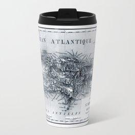 Map Of Haiti 1826 Travel Mug