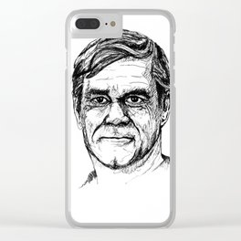 van sant Clear iPhone Case