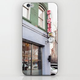 DINER IN NYC iPhone Skin