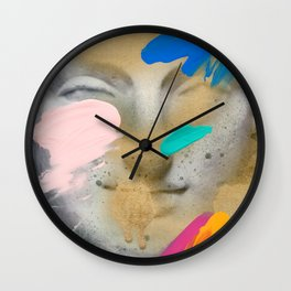 Composition 514 Wall Clock