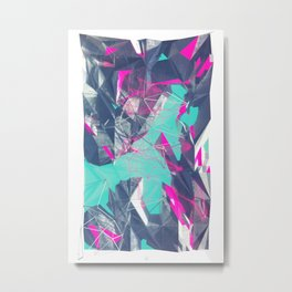 NEON SWMP Metal Print
