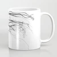 fish Mugs featuring Medusozoa by Edward Blake Edwards