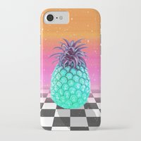 pineapple iPhone & iPod Cases featuring Pineapple by Danny Ivan