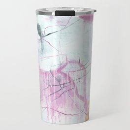 Chrystarium - Square Abstract Expressionism Travel Mug