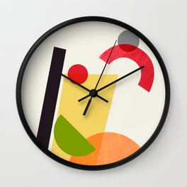 Cocktail II Tom Collins Wall Clock