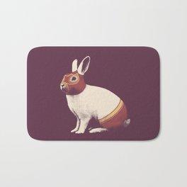 Lapin Catcheur (Rabbit Wrestler) Bath Mat