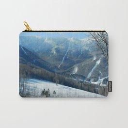 Ski Trails at Sugarbush Resort, Vermont Carry-All Pouch