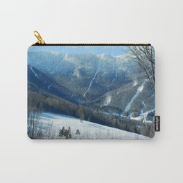 Ski Trails at Sugarbush Resort, Vermont Carry-All Pouch