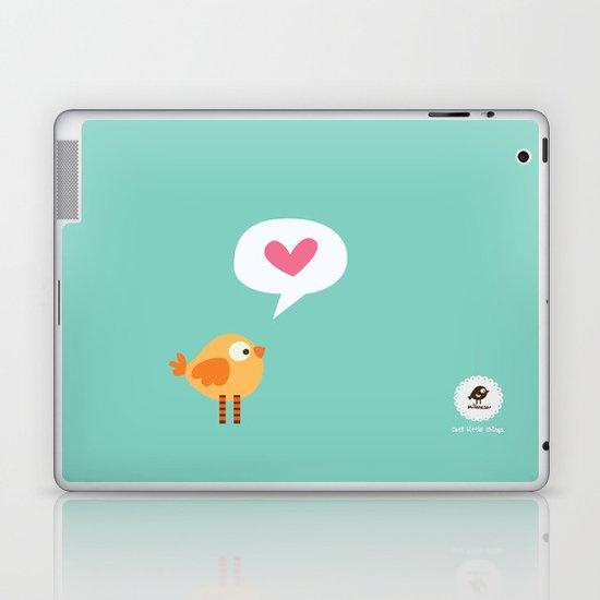 Love Birdie Laptop & iPad Skin
