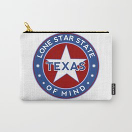 Texas, Lone Star State of Mind Carry-All Pouch