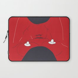Red Sex Laptop Sleeve