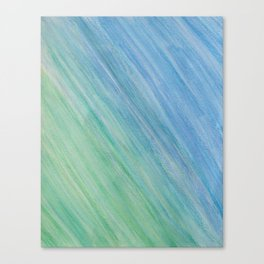 Greens and Blue Canvas Print