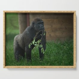 Lope The Gorilla Serving Tray