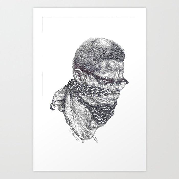 Malcolm Little Kunstdrucke