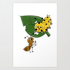Talking Animals Art Print