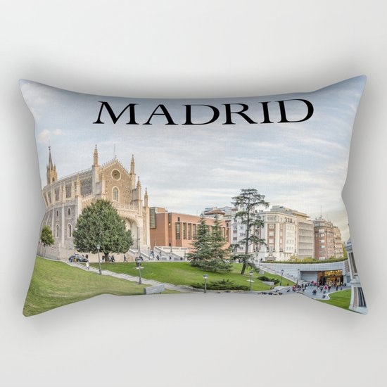 El Prado Museum. Madrid Rectangular Pillow