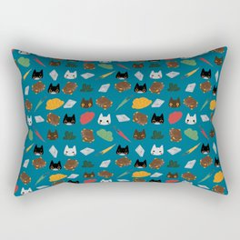 Gatti in viaggio Rectangular Pillow