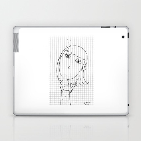 My imaginary friend_008 Laptop & iPad Skin