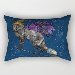 Midnight Vixen Rectangular Pillow