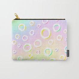 Colorful Loopy Rainbow Pastel Design! Carry-All Pouch