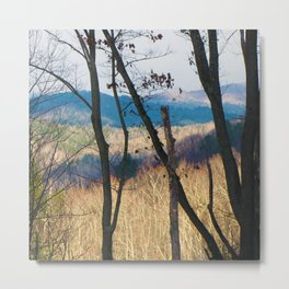 Mountain Shadows Metal Print
