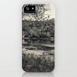 Sleepy River iPhone Case