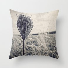 soliloquy {bw Throw Pillow