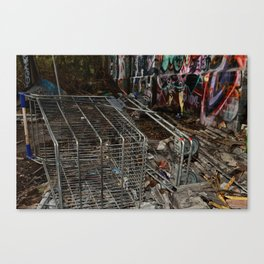 5TH AVE SPREE Canvas Print