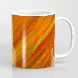 Rough Red Embers Abstract Coffee Mug