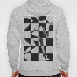 Survive Nude Woman Checkered 4 Hoody
