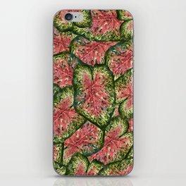 Chestnut Wasabi Foliage iPhone Skin