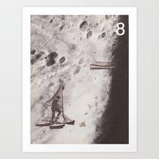 Space Ships (no. 8) Art Print