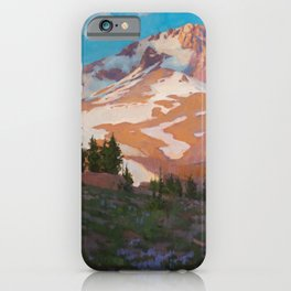 Crown Of The Cascades iPhone Case