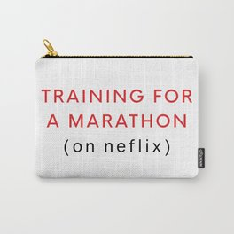 Netflix Marathon Carry-All Pouch