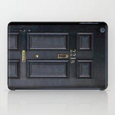 Classic Old sherlock holmes 221b door iPhone 4 4s 5 5c, ipod, ipad, tshirt, mugs and pillow case iPad Case