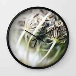 Dried Flower Wall Clock