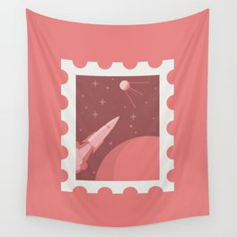 Space Stamp Wall Tapestry