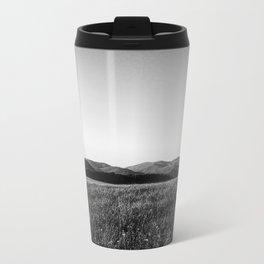 Mountain line Metal Travel Mug