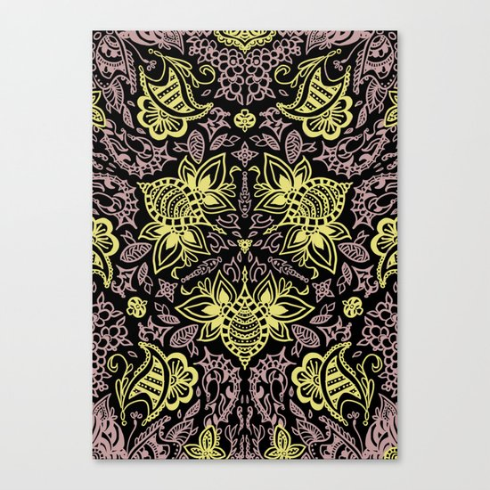 Bee-pink Canvas Print